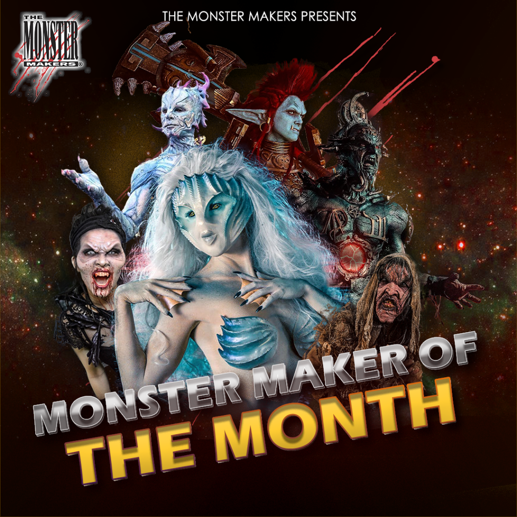 Monster Maker of the Month contest sponsored by The Monster Makers