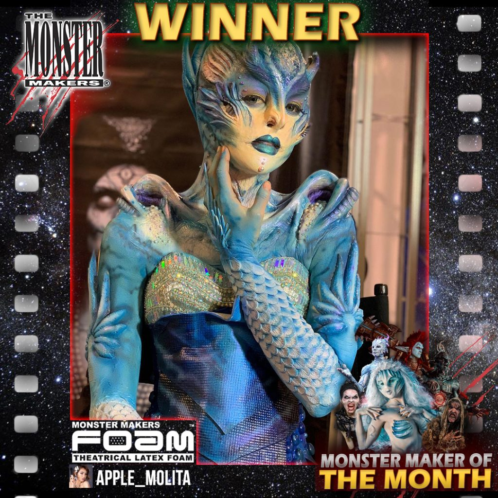 "Monster Maker of the Month winner Apple Love's   ""Blue Sea Dragon"""