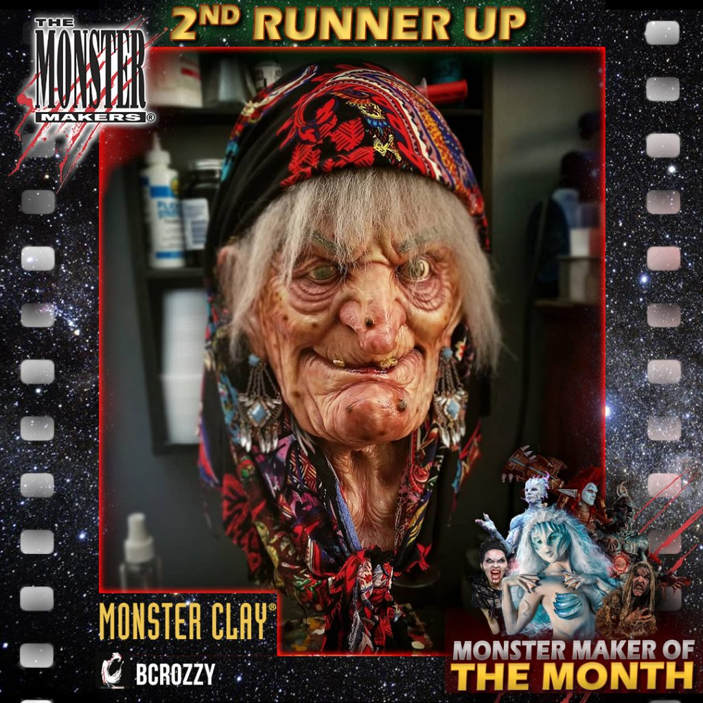 Monster Maker of the Month runner up Brandon Croslin