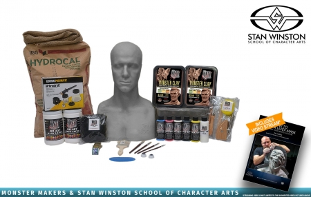Stan Winston School - Basic Latex Mask Making Kits