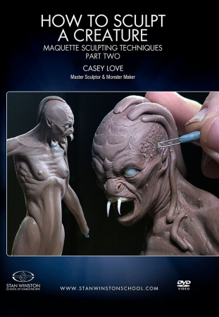 Stan Winston- How to Sculpt a Creature Maquette Pt.2