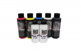 Black Friday Exclusive: Latex Mask Paint with 2oz Flex Gloss and Perma-Wet