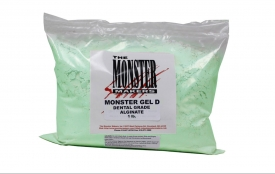 Monster Gel D - Dental Grade Alginate (1 lb.)