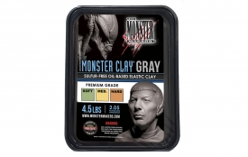 Monster Clay Gray [Soft, Medium and Hard Grades]
