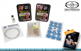 Stan Winston School - Monster Clay Maquette Sculpting Kit