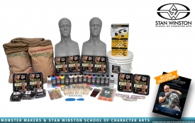 Stan Winston School - Super Deluxe Latex Mask Making Kit