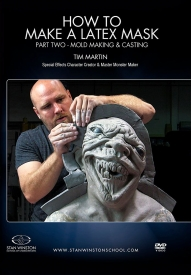 Stan Winston School - Molding and Casting a Latex Mask - Video Stream Only