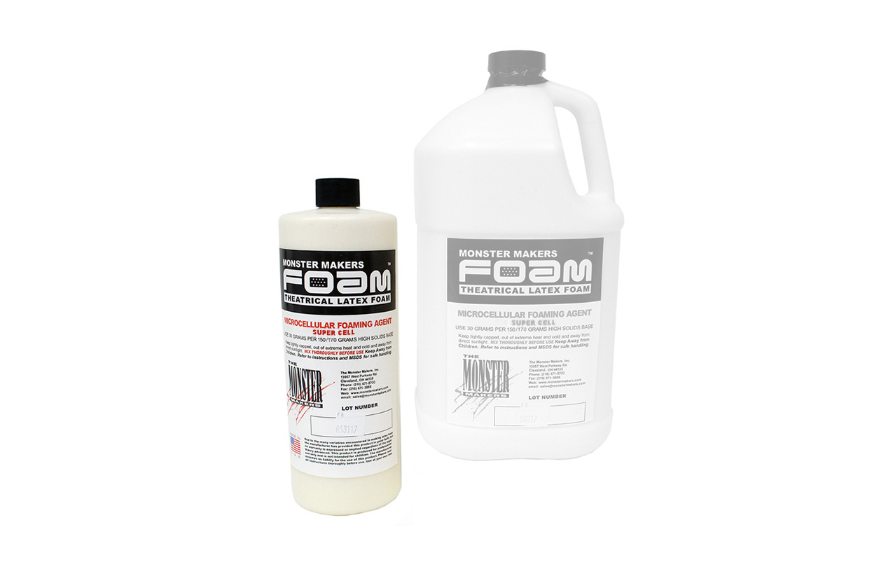 Monster Makers Foaming Agents